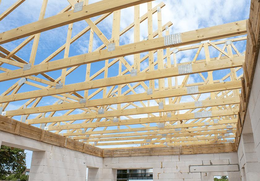 Jumta konstrukcijas no Freimans