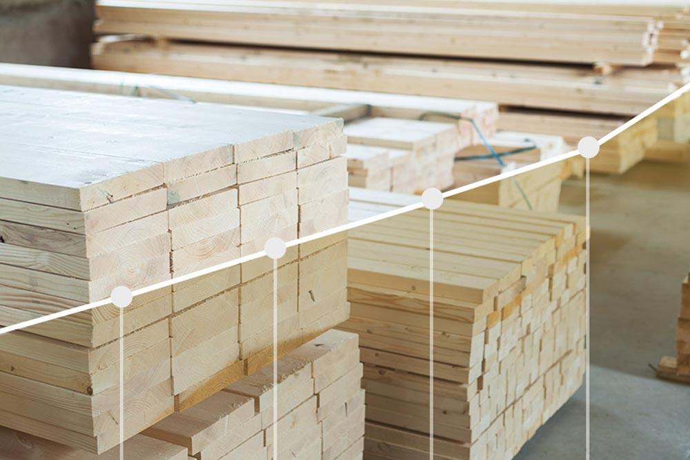 Comment le prix du bois affecte t il le coût des fermes de toit 1