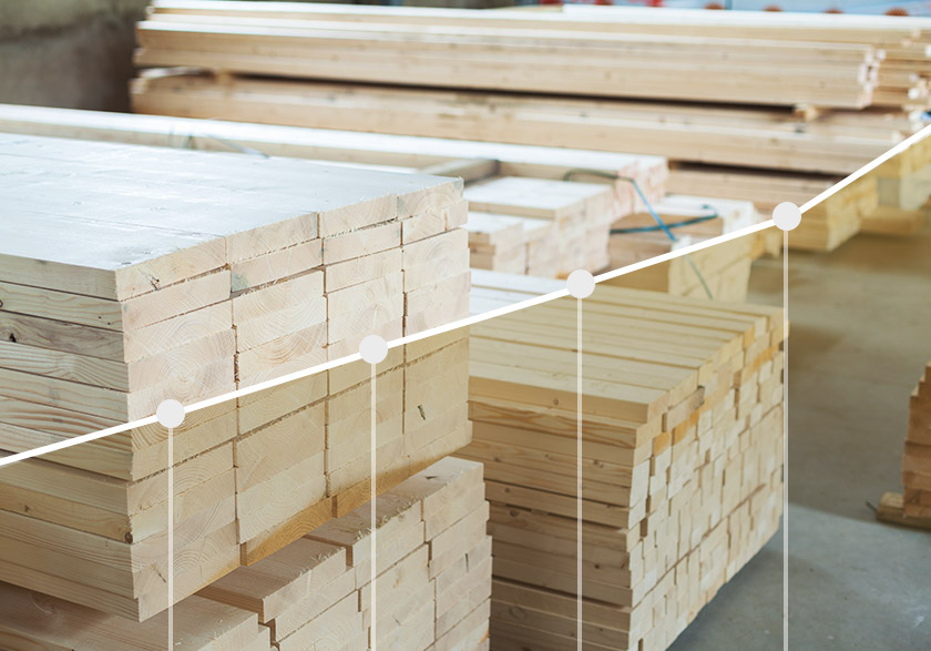 How does the timber price affect the cost of roof trusses