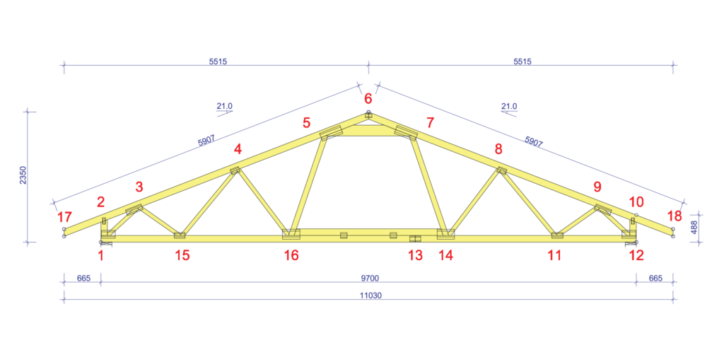 Timber trusses VS Rafters  What is the difference and how to