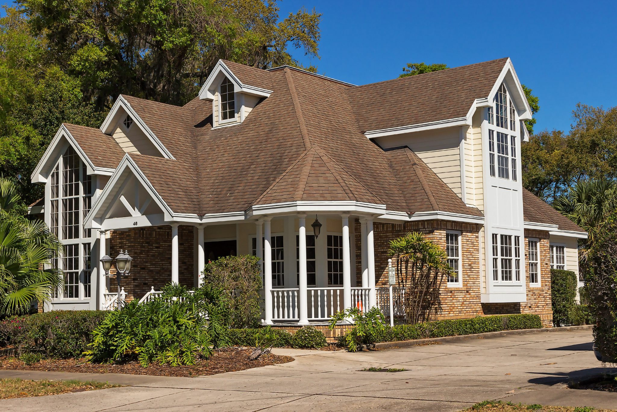 architecture driveway porch 259751