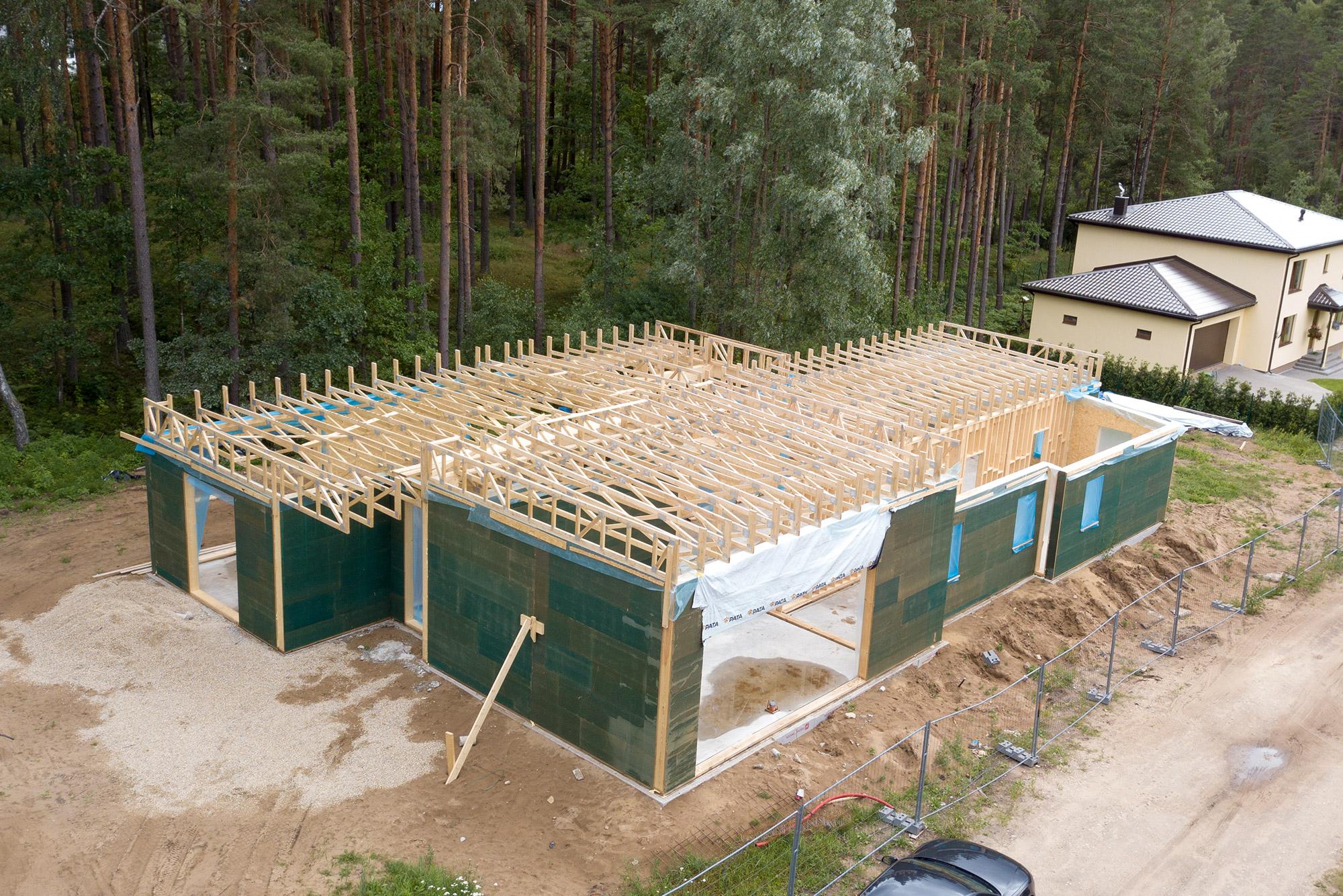 Charpentes en bois pour maison