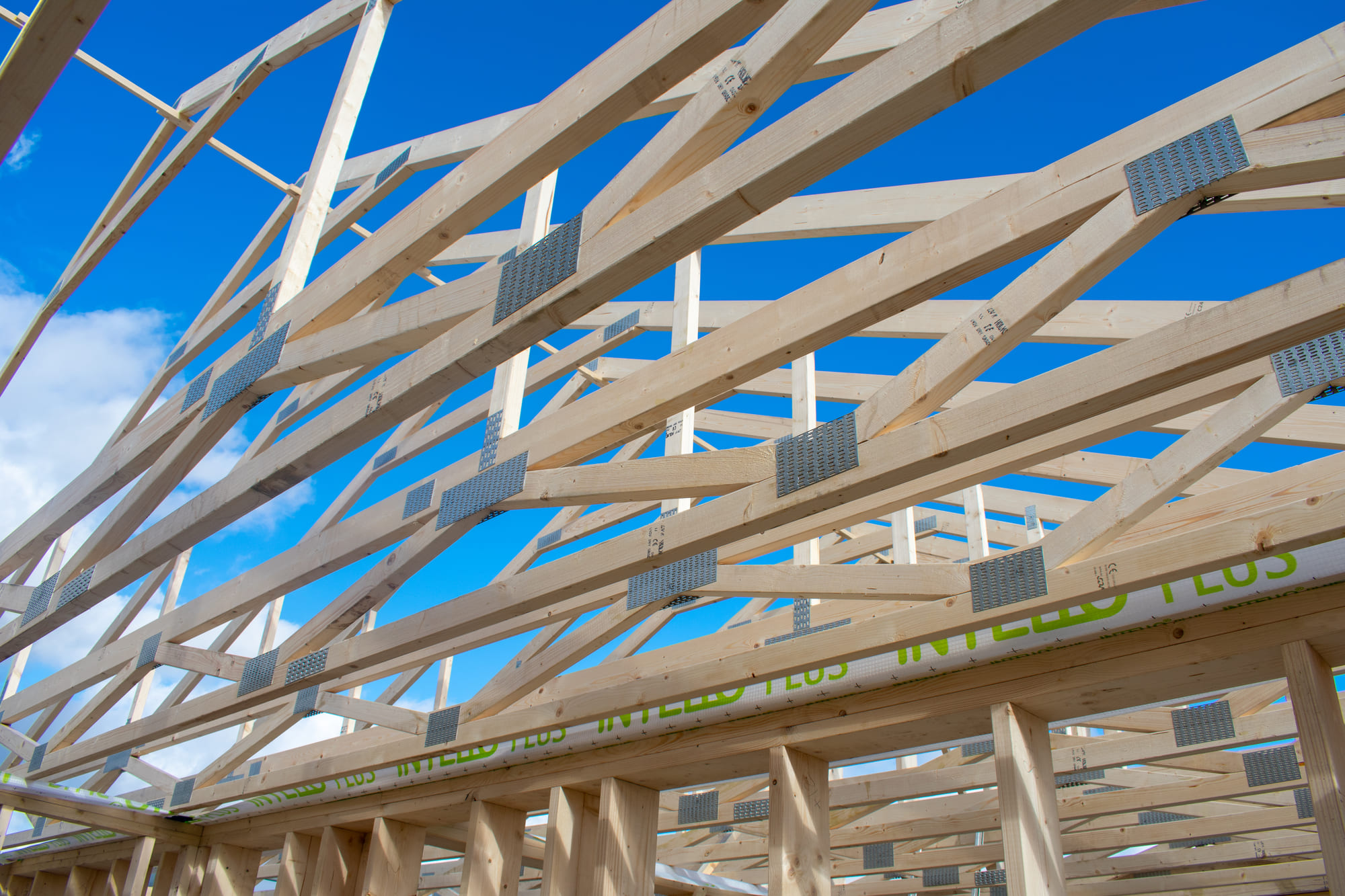 fermes en bois pour une maison privée écoénergétique