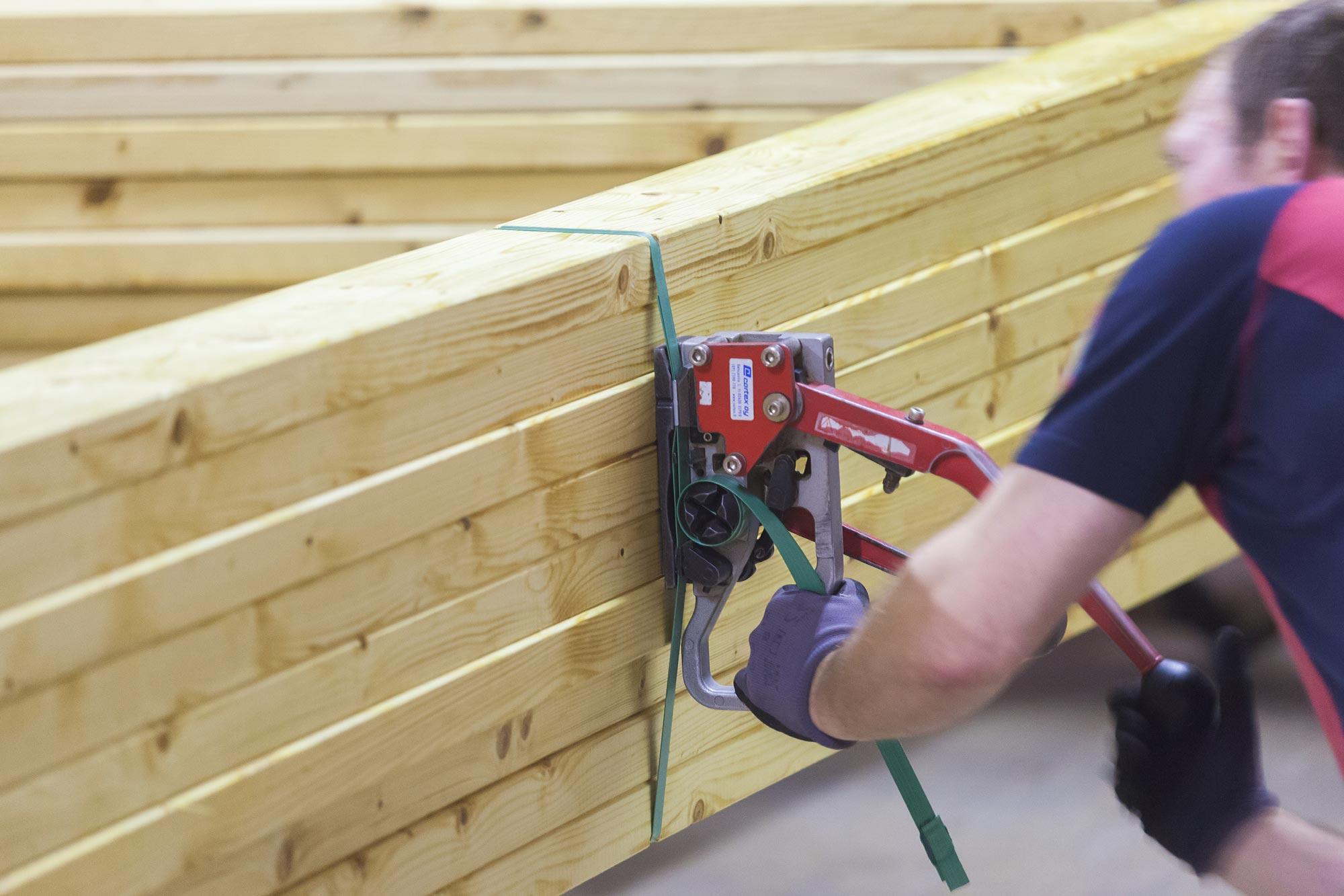 Freimans medinės konstrukcijos medinės stogo konstrukcijos