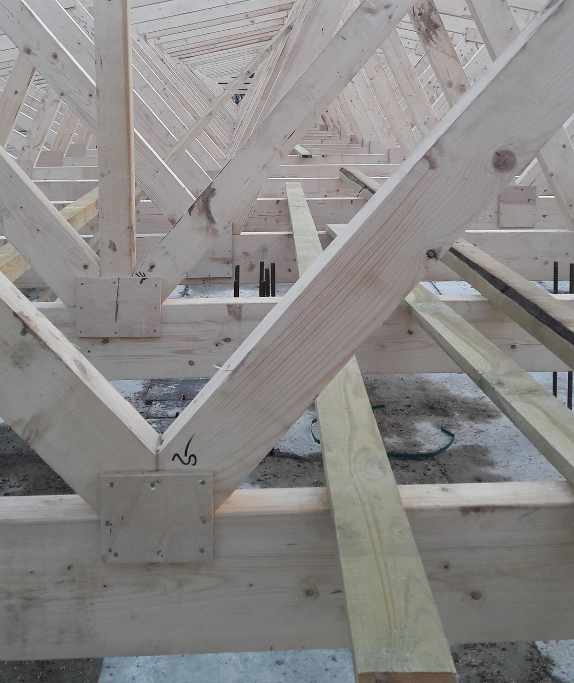 R15 technical conditions for wooden trusses