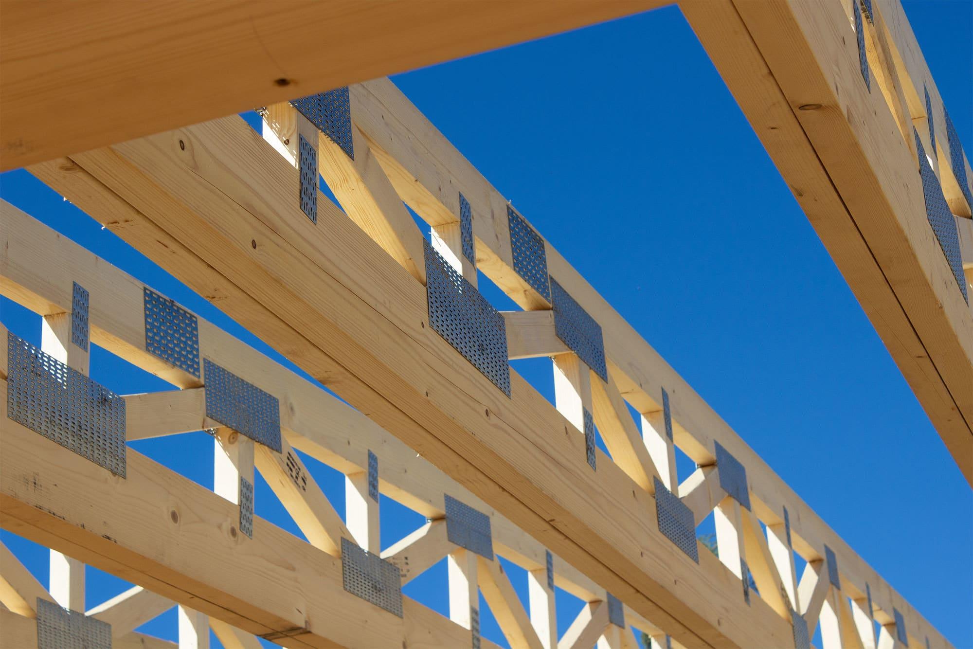 tri un precīzi jumta konstrukciju projekti