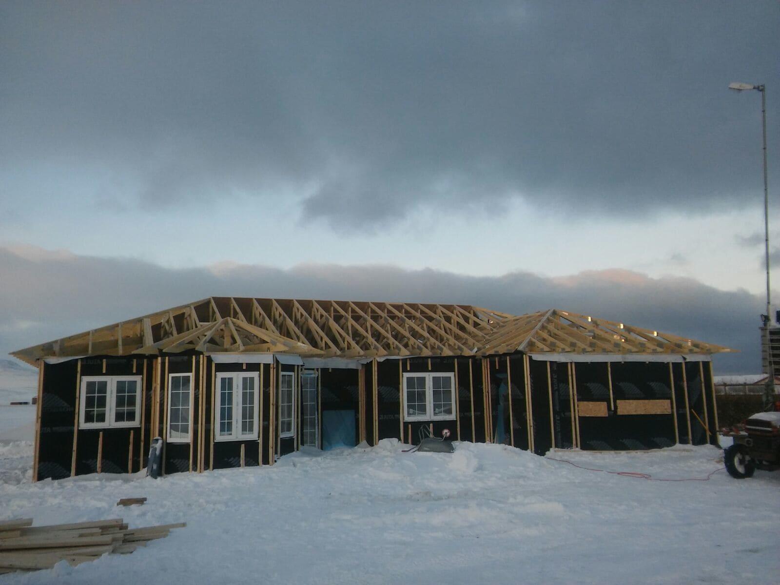 Energy efficient building construction TIVO